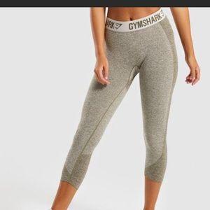NWT Gymshark flex cropped leggings
